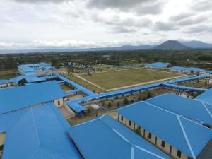 Sekolah biru gunung Singgalang