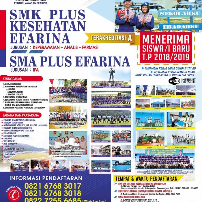 Poster Baru SMK-SMA Efarina 2018 (2)